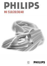 HI 510/20/30/40 - Philips