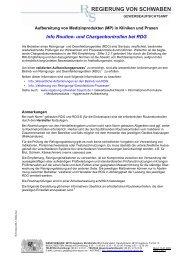 Info Routine- und Chargenkontrollen bei RDG - Regierung von ...