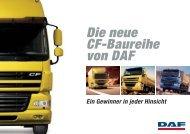 Die neue Cf-Baureihe von DAF