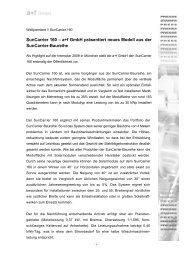 SunCarrier 160 – a+f GmbH präsentiert neues Modell aus der ...