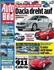 Dacia dreht auf - Auto Bild