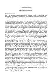 Philosophie der Sehnsucht * - Otto Friedrich Bollnow