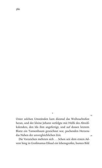 Weihnachten (pdf-Leseprobe) - Thomas Mann