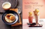 in Orange Süße Träume - Essen und Trinken
