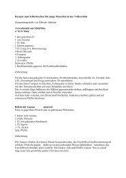 3) Rezepte aus aller Welt (PDF, 16 KB) - SOS Kinderdorf