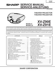 XV-Z90 / Xv-Z91 Service-Manual GB DE