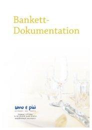 Bankettdokumentation - Uno e piu