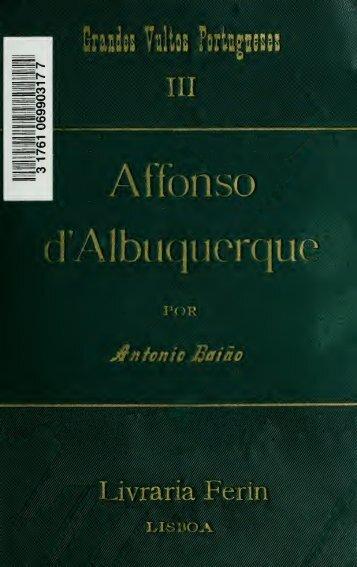 Affonso d'Albuquerque