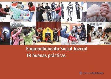 Emprendimiento Social Juvenil 18 buenas prácticas