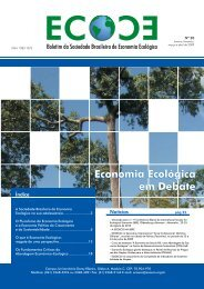 baixa - EcoEco - Sociedade Brasileira de Economia Ecológica