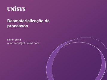 Desmaterialização de processos
