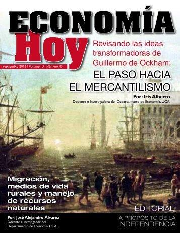 EL PASO HACIA EL MErCANTILISMO - Universidad ...