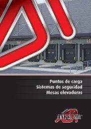 Puntos de carga Sistemas de seguridad Mesas elevadoras
