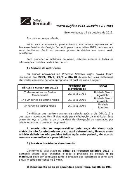 Versão para impressão - Colégio e Pré-Vestibular Bernoulli 3d8d4793ba48e