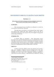 Monitoramento Ambiental da Amazônia - Defesa BR