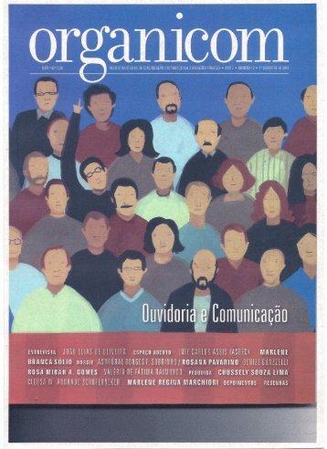 Texto sobre Ouvidoria Universitária – Revista Organicom - Unisc