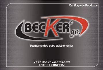 Equipamentos para gastronomia. Catálogo de Produtos - Becker go ...