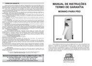 Manual - Dubrasil: Máquinas e Equipamentos para Instalações ...