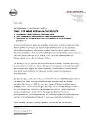JUKE: DER NEUE NISSAN B-CROSSOVER - Turben-Garage
