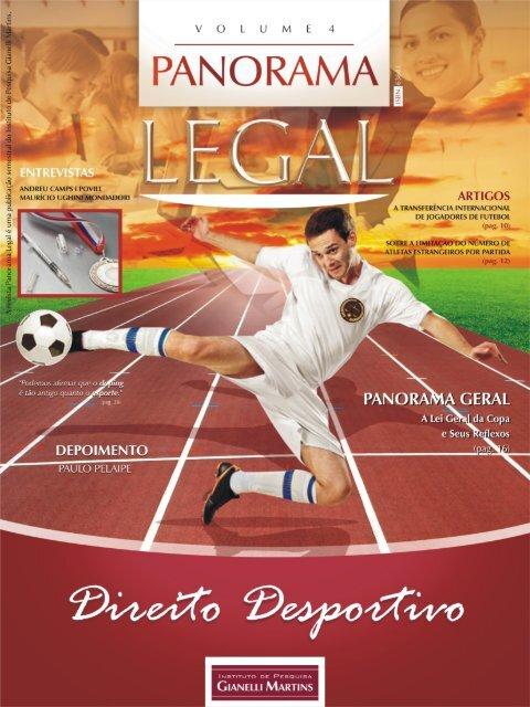 PANORAMA LEGAL ::: Volume 4 ::: Direito Desportivo