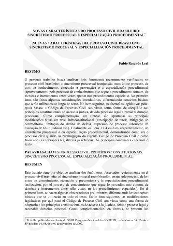 9019 novas características do processo civil brasileiro - publicaDireito