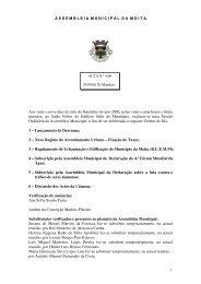 Acta Nº 4 de 2006/09/29 - Câmara Municipal da Moita