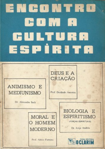 Encontro com a Cultura Espírita - ViaSantos