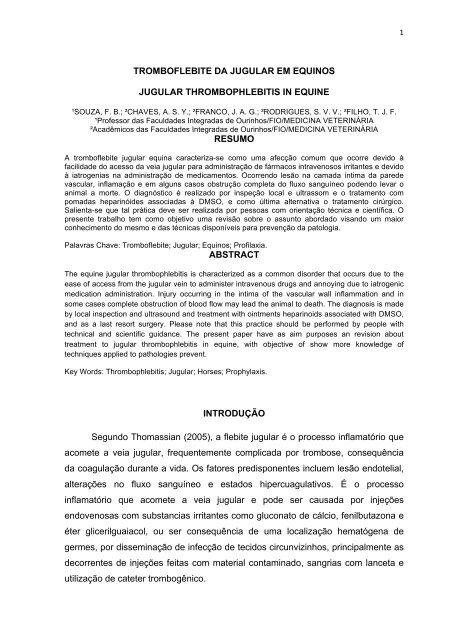 De esteróide para tromboflebite injeção