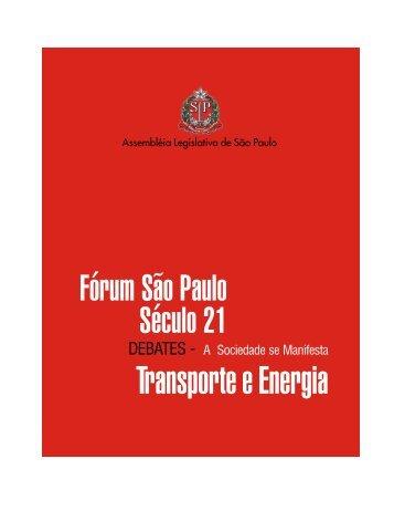 Transporte e Energia - Assembleia Legislativa do Estado de São ...