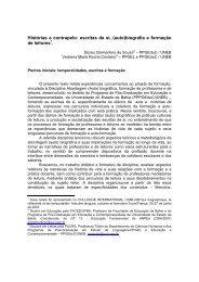 escritas de si - Associação de Leitura do Brasil