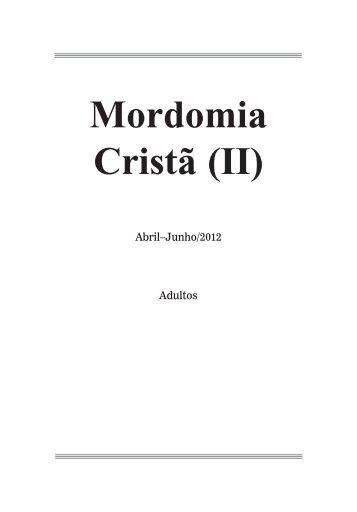 Mordomia Cristã (II) - Adventistas do 7º Dia - Movimento de Reforma