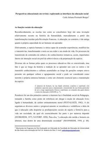 Carla Juliana Pissinatti Borges - Proceedings.scielo.br