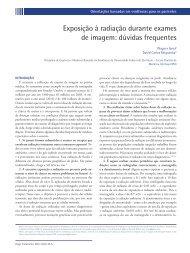 Exposição à radiação durante exames de imagem: dúvidas frequentes