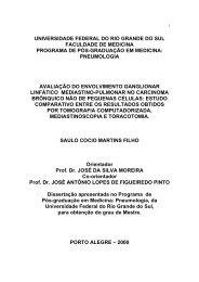 FACULDADE DE MEDICINA PROGRAMA DE PÓS-GRADUAÇÃO ...