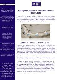 FOLDER RDC 17 - Set Máquinas e Equipamentos
