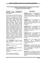 05/10/1999 - Assembleia Legislativa do Estado de Pernambuco