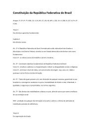 Constituição Federal - Prefeitura Municipal de São Caetano do Sul
