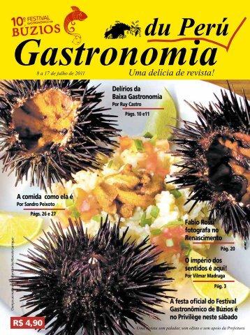 Gastronomia du Perú