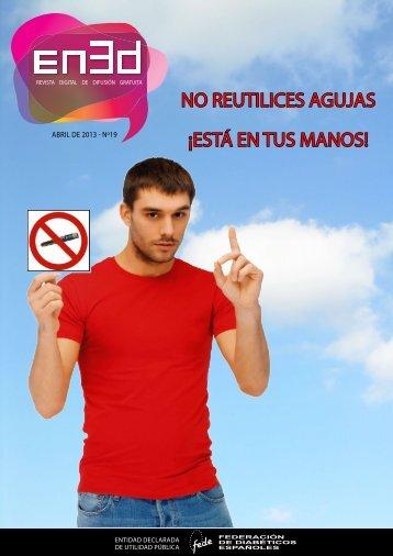 NO REUTILICES AGUJAS ¡ESTÁ EN TUS MANOS!
