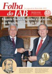Edição 95 - Novembro / Dezembro - 2009 - Instituto dos Advogados ...