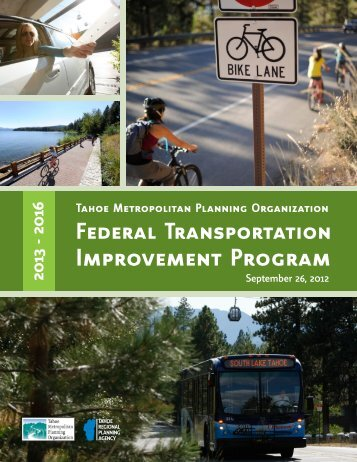 Improvement Program - Tahoe Metropolitan Planning Organization