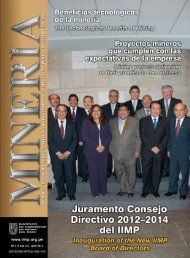 Juramentó Consejo Directivo 2012–2014 del IIMP - Instituto de ...