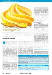 Tan Suave como la Mantequilla: [PDF, 307 kB - Linux Magazine