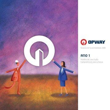 Relatório de sustentabilidade - OPWAY