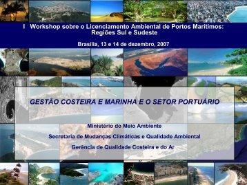 Agenda Ambiental Portuária - Ministério do Meio Ambiente