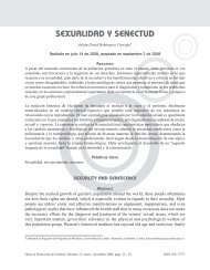 SEXUALIDAD Y SENECTUD - Hacia la Promoción de la Salud ...