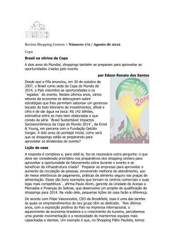 Mídia: Site Portal do Shopping - Companhia de Idiomas