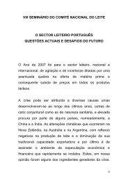 VII SEMINRIO DO COMIT NACIONAL DO LEITE - Associação ...