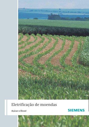 Eletrificação de moendas - Siemens Brasil