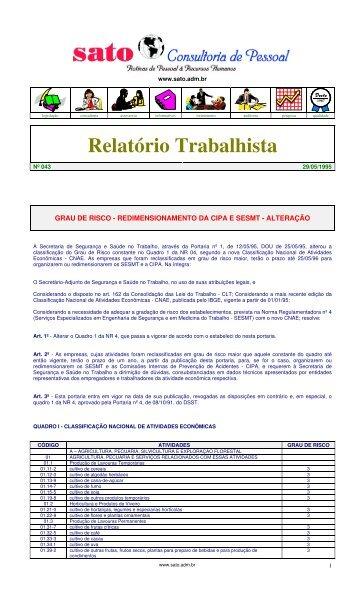 043 - Sato Consultoria de Pessoal